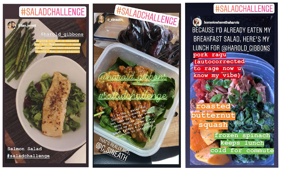 Ready to Rise to the #SaladChallenge?