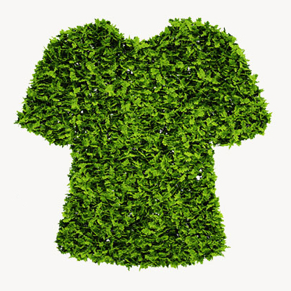 Shirt Made of Hedges
